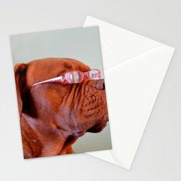 Fashion Dogue de Bordeaux Stationery Cards