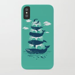 Whale of a Time iPhone Case