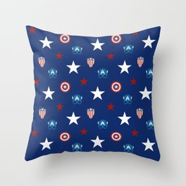 The Star Spangled Man With A Plan Throw Pillow