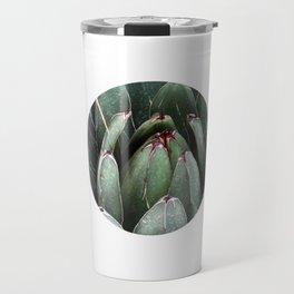 ALOE VERA PLANT ART PHOTO Close Up Plant Leaves Decor Travel Mug