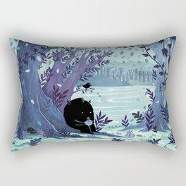 A Quiet Spot of Tea Rectangular Pillow