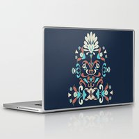 folk Laptop & iPad Skins featuring Folk by Carolina Abarca