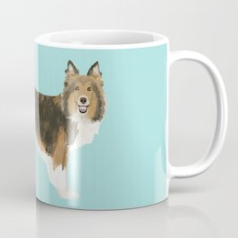 sheltie funny farting dog breed pure breed pet gifts Coffee Mug