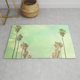 Palm tree photo. Los Angeles. La La Land  Rug