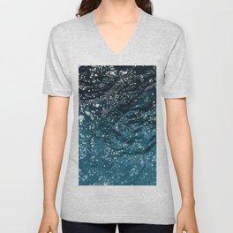 Texture #7 Water Unisex V-Neck