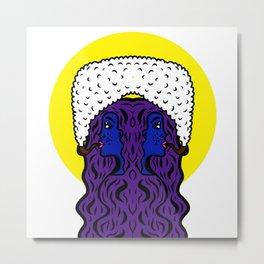 Gemini Goddesses Metal Print