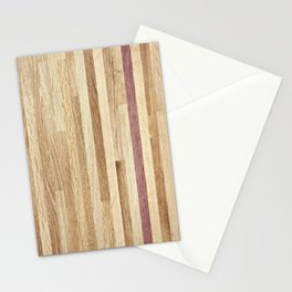 Wooden wall panel Stationery Cards