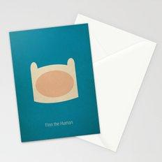 Minimalist Adventure Time Finn Stationery Cards