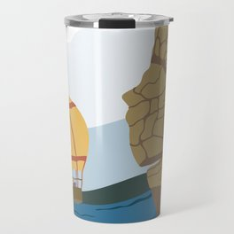 Hang Gliders and Hot Air Balloon Travel Mug