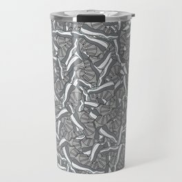 "Air Jordan 11 ""Cool Grey"" Collage Print Travel Mug"