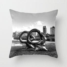 Enlightenment, London Throw Pillow