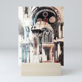 Venice San Marco, architecture detail Mini Art Print