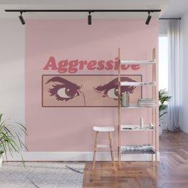 Aggressive Wall Mural