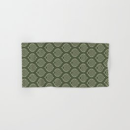 Olive Scales Hand & Bath Towel
