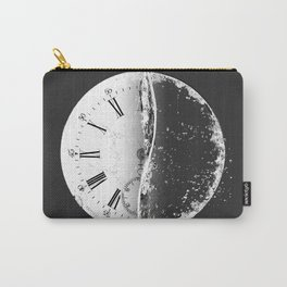 Creative Illustration - Clock and Water Carry-All Pouch