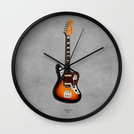 The Jaguar Guitar 1967 Wall Clock
