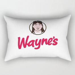Wayne's Single #1 Rectangular Pillow