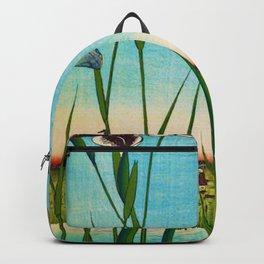 Japanese Cherry Blossom Japanese Woodblock Art Print Tees Backpack