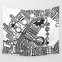 Glyph Signal 1 Wall Tapestry