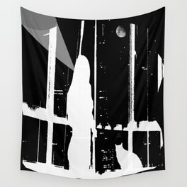 Midnight Call Wall Tapestry
