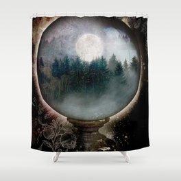 LITTLE WORLDS Shower Curtain