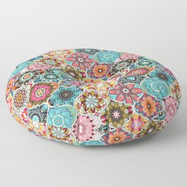 Bohemian summer Floor Pillow
