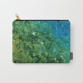 Transition, Abstract Acrylic Carry-All Pouch