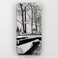 Christmas time in Chicago iPhone & iPod Skin