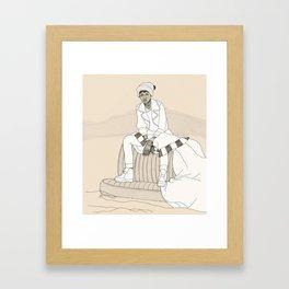 Self-Proclaimed Royalty II Framed Art Print