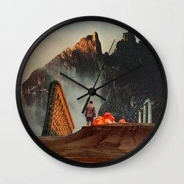 My Worlds Fall Apart Wall Clock