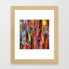 Interference Psychedelia Framed Art Print