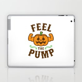 Feel The Pump Laptop & iPad Skin