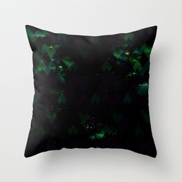 SPACE FIELD Throw Pillow