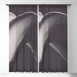 Calla lily photo, fine art, flowers photography, flower still life, wall decor, Robert Mapplethorpe Blackout Curtain