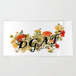 DGAF Day Beach Towel