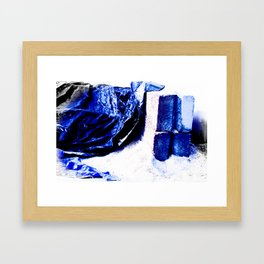 BROKEN BEAST Framed Art Print