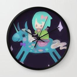 PonyCorn Wall Clock