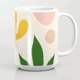 Abstraction_Floral_001 Coffee Mug
