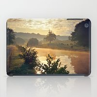 cows iPad Cases featuring Dawn Cows =) by Mark Bagshaw Photography