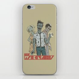 The Walking Hip iPhone Skin