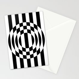 Hot Spot || Black & White Stationery Cards