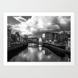 Cork City Art Print