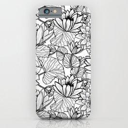 Lotus Flowers iPhone Case