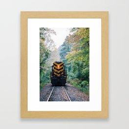 Oncoming Framed Art Print