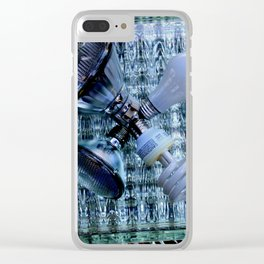 Burn-out Clear iPhone Case