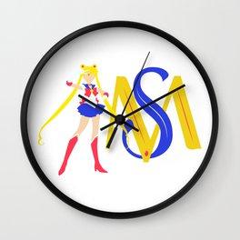 Sailor Moon Monogram Wall Clock