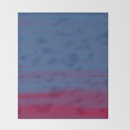 Bluered Acrylic Throw Blanket