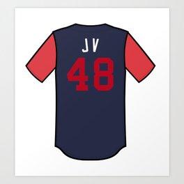Jonny Venters Players' Weekend Jersey Art Print