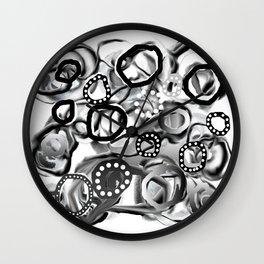 Ice Bubbles 02 Wall Clock