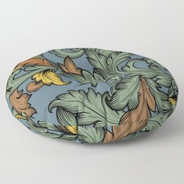 Acanthus Leaves Floor Pillow